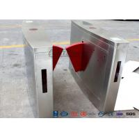 Best 3 Lanes Flap Automatic Swing Barrier Gate Card Collector For Biometric Access Control wholesale