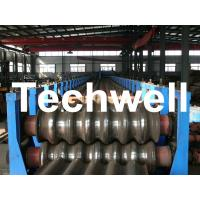 Best Galvanized Plate / Steel Corrugated Sheet Roll Forming Machine for For Wall Panel wholesale