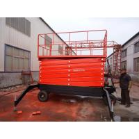 Buy cheap 18m Height Mobile Hydraulic Scissor Work Lift Table from wholesalers