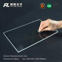 Best Robot partitions with abrasion resistant acrylic sheet for aluminum extrusion wholesale