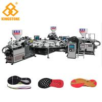 Best High Production Rotary PVC/ TPR Shoe Sole Making Machine One / Two / Three Colors wholesale
