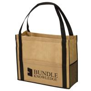 Best Customized Reusable Non Woven Handbag Pp Laminated Bags Good Breathability wholesale