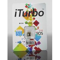 Best iTurbo Thin card unlock iPhone 5S/5C With iOS 7.1 iOS 7.1.1 Work Gsm Wcdma Cdma wholesale