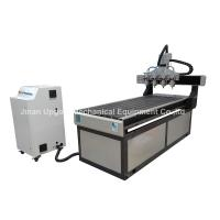 Cheap 4 Spindles 700*1800mm CNC Engraving Cutting Machine with DSP Control for sale