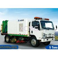 Cheap 5tons Street Sweeping Special Purpose Vehicles For High Way , Airport And Dock for sale