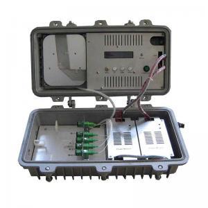 Cheap Field Type 4 Output High Power Optical Amplifier 1535~1565nm Optical Wavelength for sale