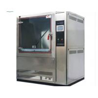 Best IP5x IP6x Stainless Steel Sand Dust Test Chamber , Dust Testing Equipment For School / Factory wholesale