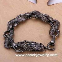 Best Unique style old fashioned china dragon bracelets bangles wholesale