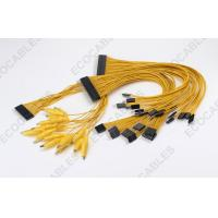 Best 3A Yellow Alligator Clip Battery Cable Harness With 40P Connector wholesale