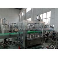 3000BPH Automatic Bottle Filling Machine High Stability With Glass Bottle