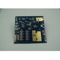 Best Blue Thick Gold Multilayer PCB Board UL 94 V 0 Flamibility Grade Tg 170 wholesale