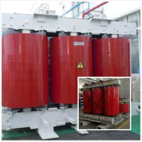 Cheap Cast Resin Low Rated / Low Voltage Distribution Transformer 32 KVA Red Color for sale