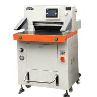Best DB-520V8 Programmed Hydraulic Paper Cutting Machine 520mm With Touch Screen wholesale