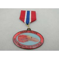 Best Iron / Brass / Copper / Zinc Alloy 2D or 3D Offset Printing Medal for Souvenir Gift wholesale