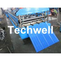 Best TW-18-228.5-914 Roof and Wall Cladding Roll Forming Machine With Hydralic Cutting and PLC Control wholesale