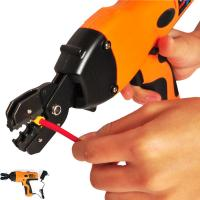 Best Electric Battery Powered Handheld Cable Wire Crimper Automatic Crimping Tool wholesale