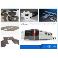 Best 8000 W Fiber Laser Cutting Machine For Metal Plate , Sheet Metal Cnc Machines wholesale