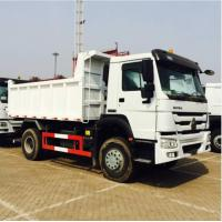 290HP Sinotruk Howo 4x2 10 Ton Small Tipper Truck With Powerful Steering Gear Box