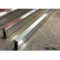 Best Sliver Mirror Polished Aluminium Profile For Bacony Rail Polished Aluminum Extrusion Profiles wholesale