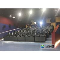 Cheap Exciting 5D Cinema Equipment , 5D Luxury Motion Seats With Vibration Effect In Mall for sale