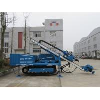 High Penetration Rate Anchor Drilling Rig For 150 - 250 Mm Hole Diameter