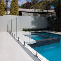 Best Tempered Swimming Pool Glass Fence / Glass Railing / Glass Balustrade wholesale
