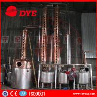 Best Rum Gin Whiskey Commercial Distilling Equipment Alcohol Pot Still wholesale