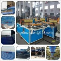 Cheap PVC colorsteel corrugated composite roof tile/roofing sheet making machine for sale