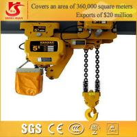 Best Hot sale Small overhead kito 1-10 ton electric chain hoist wholesale