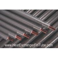 Quality B111 Cooper & Copper-Alloy Tubes , Solid Extruded Bimetallic Condenser Fin Stock wholesale