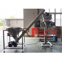 Electric Semi automatic auger powder filling machine for bags , bottles , cans