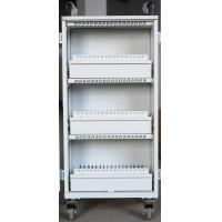 Best Easy Unload White Beautiful Apple Ipad Cart 54 Units Durable For Bank / Office wholesale