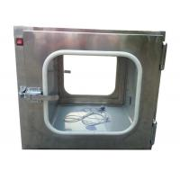 Best Custom Stainless Steel 201 Static Cleanroom Pass Box For Biological Engineering wholesale