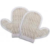 Best Natural Customized Dead Skin Exfoliating Shower Mitt Sisal Body Scrubber Glove wholesale