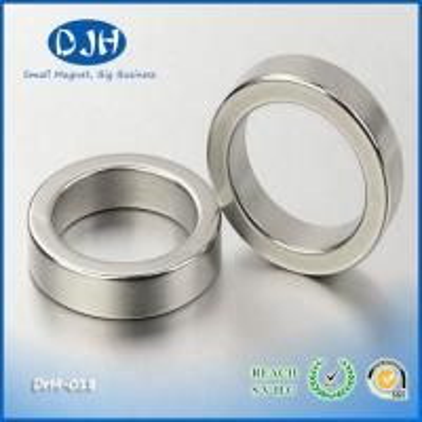 Cheap Permanent Neodymium Motor Magnets , Generator neodymium arc magnets Nickel Coated N50 for sale