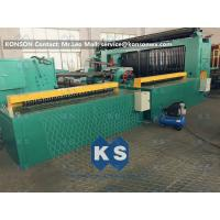 Best 5kw Automatic Wrapped Edge Gabion Machine Edge Wrapping Machine 4 Meter wholesale