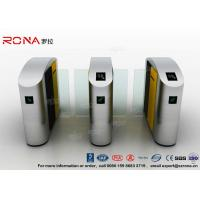 Best Turnstile Barrier Gate Waist Height RFID Turnstile Security Systems Automatic Flap Barrier Turn Style Door wholesale