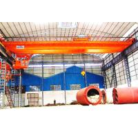 Buy cheap High Pressure Double Crank Electric Double Girder Overhead Crane With Remote from wholesalers