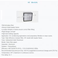 Cheap Compact filter high efficiency for sale