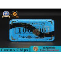 Best Gambling Products Plastic Bargaining Chip Shape For Entertainment Club wholesale
