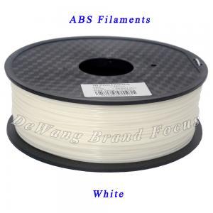 Best Office & School Electronics Parts ABS 3D Printer Filament 1.75mm White wholesale