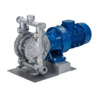 Buy cheap Electric diaphragm pump with motor   aluminum alloy housing DN125 for waste water transfer filter press from wholesalers