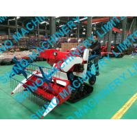 Best 4L-0.7 mini wheat rice combine harvester with crawler wholesale