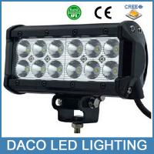 Best 7inch 36W led truck light bar wholesale