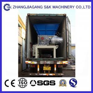Best Low Speed Wood Grinder Machine Crusing Case 22KW , Wood Recycling Machine wholesale