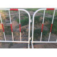 Best Galvanized Welded Pipe Heavy Barricade With Reflective Band wholesale