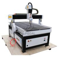 Cheap 900*1500mm CNC Wood Advertisement Router with Vacuum Table/Mach3 Control System for sale
