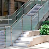 Best Balcony Tempered Glass Baluster Railing Stainless Steel Cheap Deck Railing wholesale