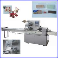 Cheap Automatic Multifunction  Flow Pack Machine For Bread / Biscuit wholesale