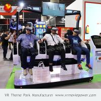 Buy cheap Screaming Experience Multiplayers 9D 3 Seats Mini Cinema Virtual Reality Game Machine from wholesalers